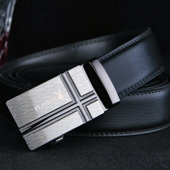 Playboy Men's Belt, Business Automatic Buckle, Leather Belt, Genuine Leather Suit, Belt, Men's Belt - intl