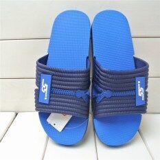 บ้านร่มนุ่มด้านล่างผู้ชายดูแลรองเท้ารองเท้าแตะ (สีฟ้า) ราคา 359 บาท