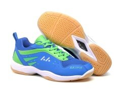 Professional Women's Breathable Badminton Shoes Fashion Couples Anti-skid Sneakers Plus Size 36-45 - intl
