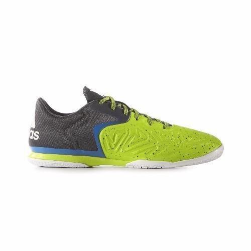 สุดยอด รองเท้าฟุตซอล adidas x 16.2 court รุ่นรองท้อป (สีเขียว/น้ำเงิน) ซื้อเลย