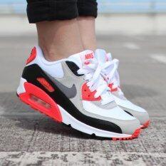รองเท้าผ้าใบ Nike Air Max 90 Premium Mesh Running Shoes
