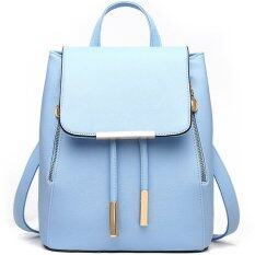 RockLife Women Backpack กระเป๋าสะพาย กระเป๋าเป้สะพายหลัง - Blue