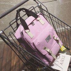 Sun กระเป๋า กระเป๋าเป้ กระเป๋าเป้สะพายหลัง NEW Fashion Backpack TTQ-สีชมพู