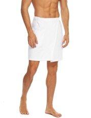 Top Sale Men Wrap Shower Fastening Tape Terry Velour Bath Towel (white) - Intl ราคา 441 บาท(-42%)