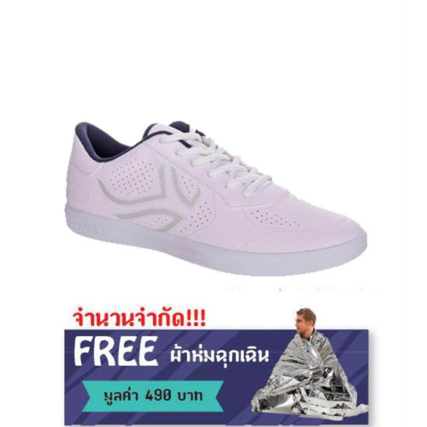 รองเท้าเทนนิสแบบผูกเชือกรุ่น TS700 (สีขาว) -ฟรีผ้าห่มฉุกเฉิน มูลค่า 490 บาท ...