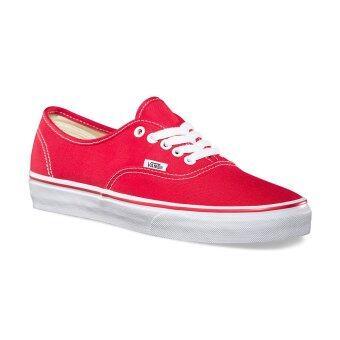 Vans รองเท้า รุ่น Authentic (Red)
