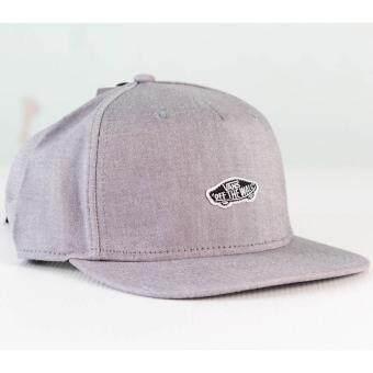 Vans หมวก แวน M Cap Trenton Snapback VN0A2ZZJGRX GRY (1400)