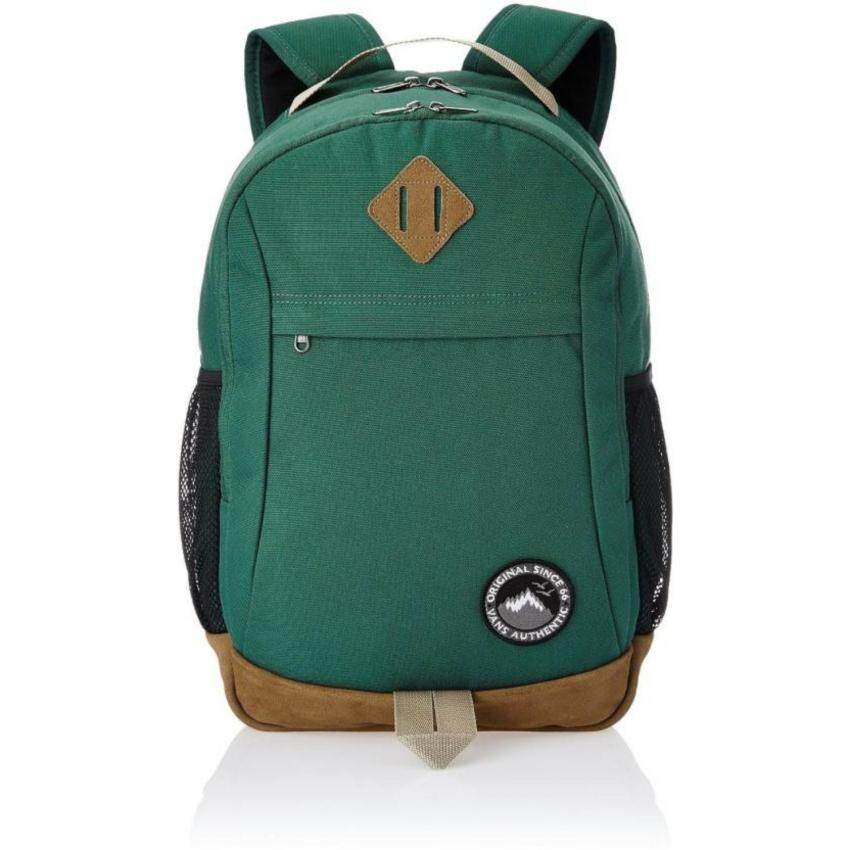 Vans กระเป๋าเป้ SKOOLED BACKPACK TREKKING GREEN