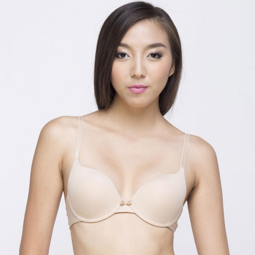 Wacoal Best Seller Push up Bra 3/4 cup (สีเนื้อ/NATURAL NUDE) - WB5A95NN