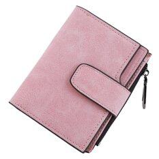 Women Short Clutch Wallets Zipper With 9 Card Slot Pockets(pink) - Intl ราคา 316 บาท(-75%)