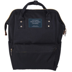 wonderful story Japan Women Bag Backpack กระเป๋าเป้สะพายหลัง - Black