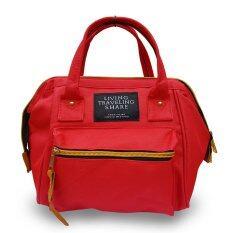wonderful story Japan Women Bag Backpack กระเป๋าเป้สะพายหลัง - Red