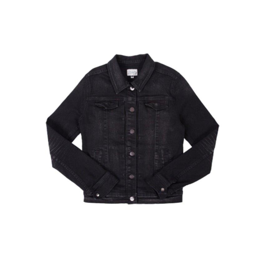 เสื้อแจ็คเก็ต Wrangler รุ่น WR W742D106 สี BLACK0