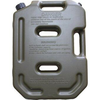 10Liter Jerry can Plastic Fuel Cans Petrol Tank Jerrycan Army Green