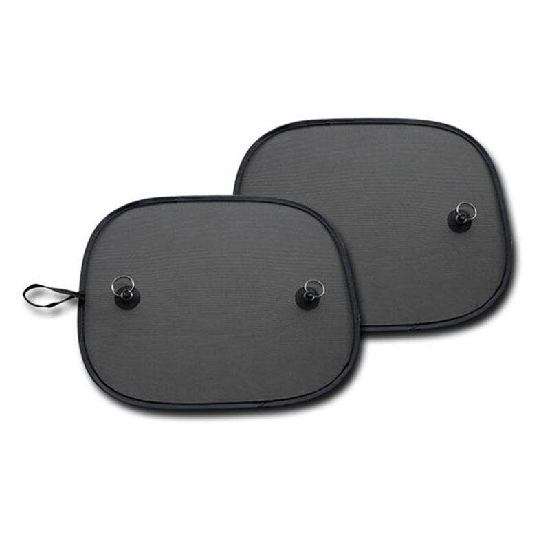 2 Pcs Car Sun Shades Rear Window Sunshades Cover Shield Interior UV Protection - intl