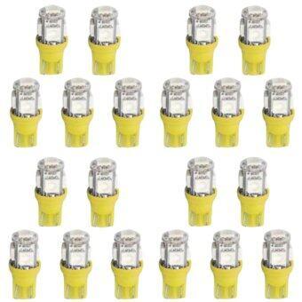 20 X T10 Red 5050 SMD 5 LED Car Side Wedge Light Bulb Lamp 12V