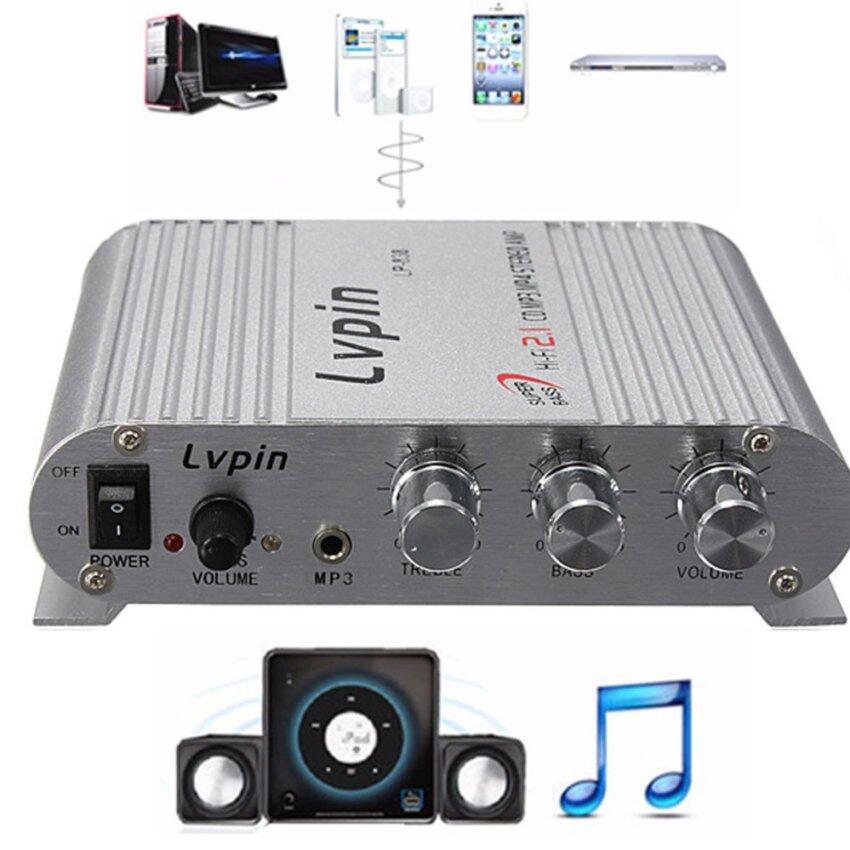 200W 12V Super Bass Mini Hi-Fi Stereo Amplifier Booster Radio MP3 for Car Home