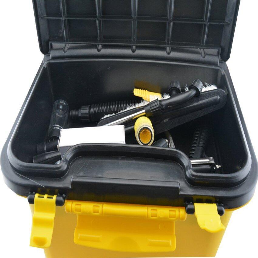 2N ถังน้ำเอนกประสงค์ติดปั๊มในตัว พร้อมแบตเตอรี่ในตัว ชาร์จไฟใช้งานแบบไร้สายได้ ขนาด 36 ลิตร – Yellow ...