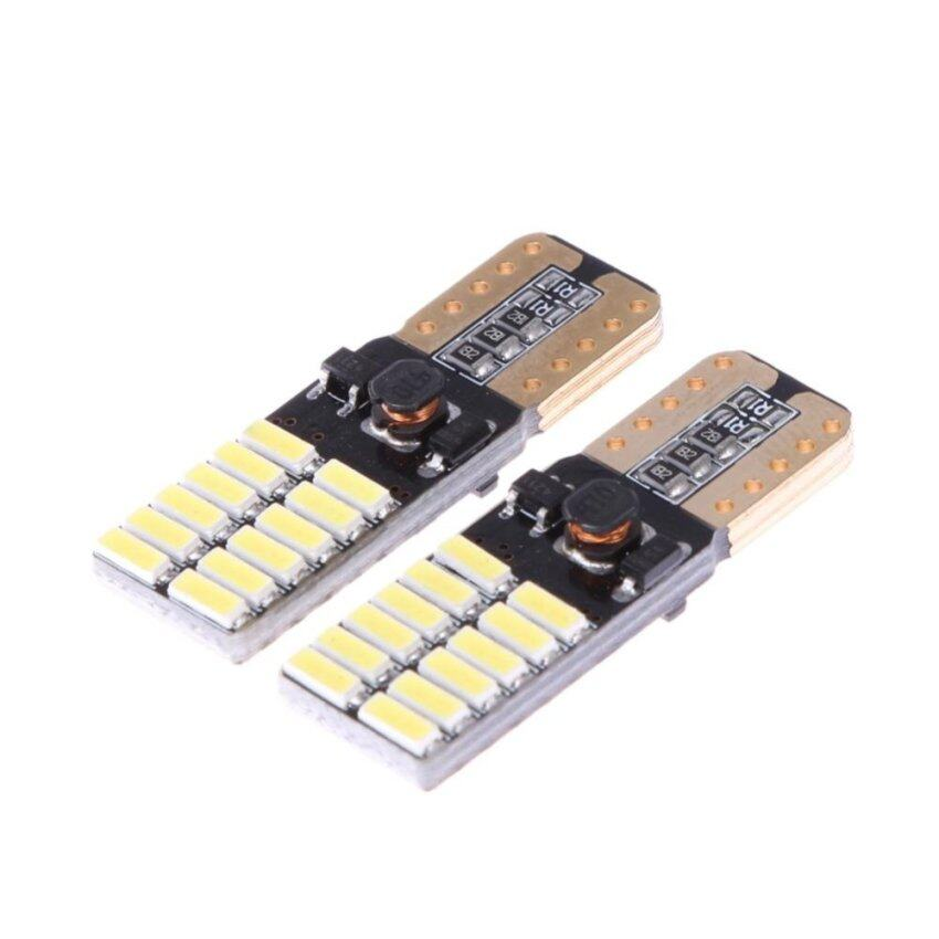 2X Indicator Lights Car Lights CANBUS T10 4014 24 Lights(Intl) - intl ...
