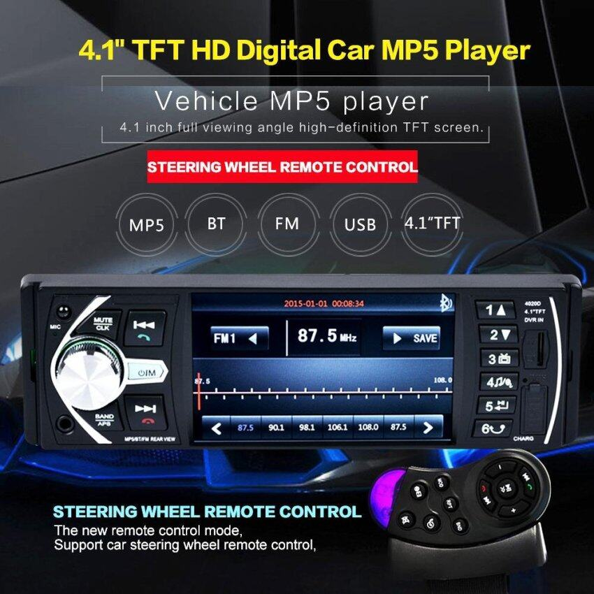 Luyan Tape Mobil Double Din Layar 7 Inch Dvd Vcd Cd Mp3 Usb Aux Fm Source
