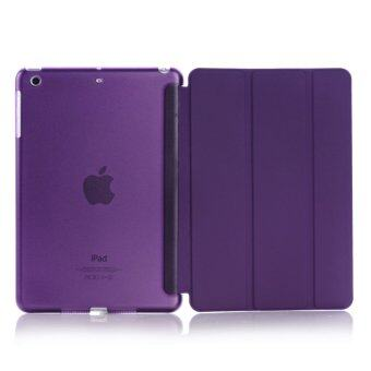 Apple 2016 iPad Pro (9.7) / iPad Air 2 (ipad 6) case, Welink Ultra Slim Smart Cover PU Leather Case for Apple 2016 iPad Pro (9.7) / iPad Air 2 (ipad 6) (Purple)
