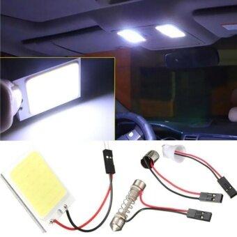 BUYINCOINS 10W 23mm LED Eagle Eye Light Car Auto DRL Daytime Running Strobe Lamp 12V Silver&Blue