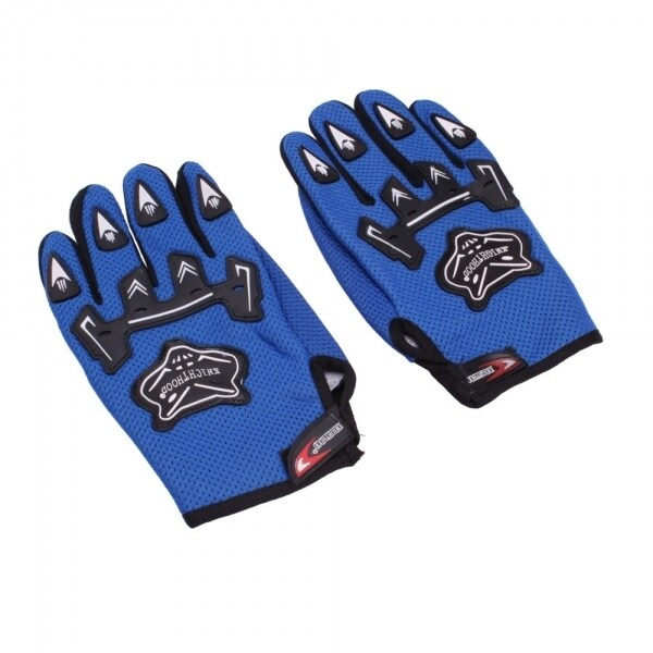 Bicycle Motorcycle Racing Protective Gloves (Blue)