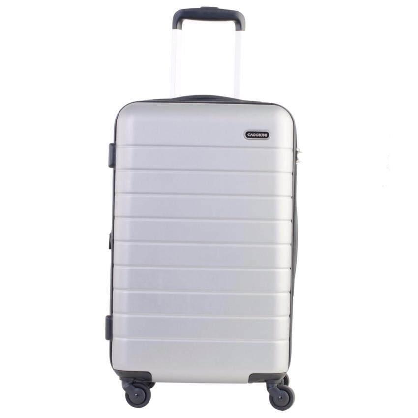 Caggioni กระเป๋าเดินทางขนาดพิเศษ รุ่นฟูลลี่ (Fully) ขนาด 22 นิ้ว สีเทา ...