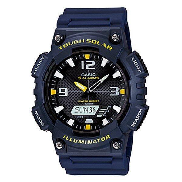 Casio นาฬิกาข้อมือ รุ่น AQ-S810W-2AVDF (Blue) ...