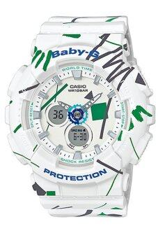 Casio Baby-G Women's Watch BA-120SC-7A White