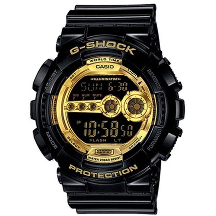 Casio G-Shock Extra Large Series Watch GD100GB-1 - intl