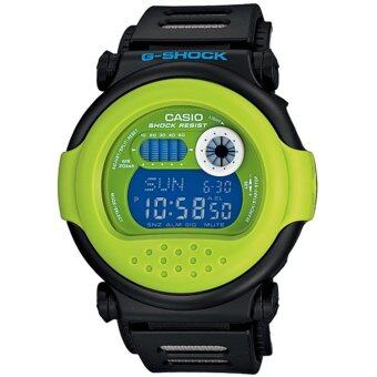 Casio g-shock นาฬิกาข้อมือ รุ่น G-001HC-1DR - Black/Green