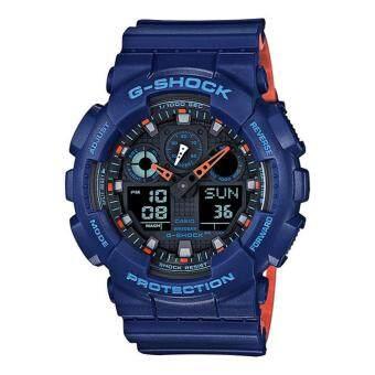 Casio G-Shock นาฬิกาข้อมือรุ่น GA-100L-2ADR - ประกัน CMG 1 ปี