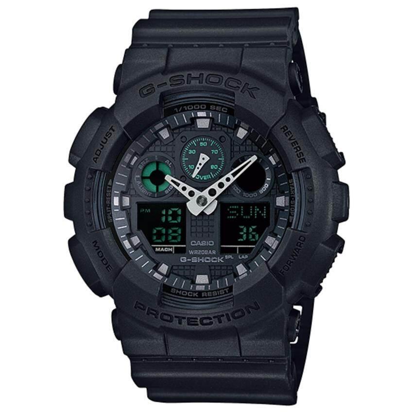 Casio G-Shock รุ่น GA-100MB-1ADR (Black)