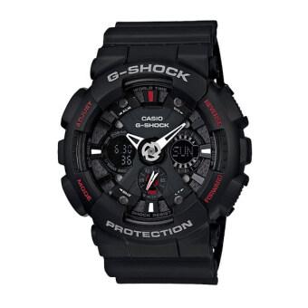 Casio G-Shock นาฬิกาข้อมือ รุ่น GA-120-1ADR (Black/Red)