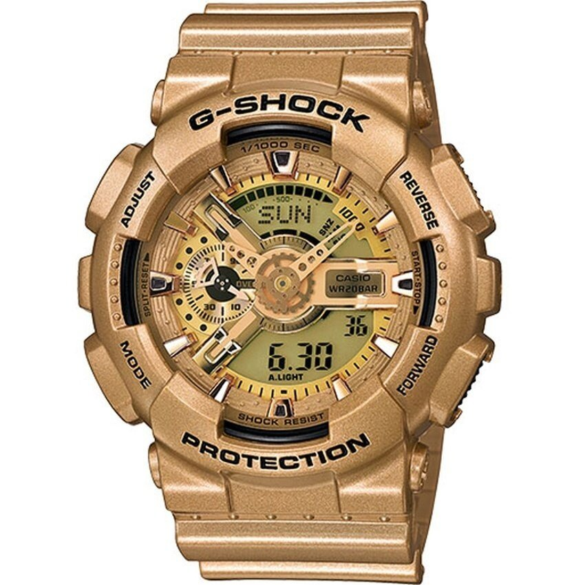 Casio G-Shock Limited Edition Bright Gold Colors Watch GA-110GD-9A - intl