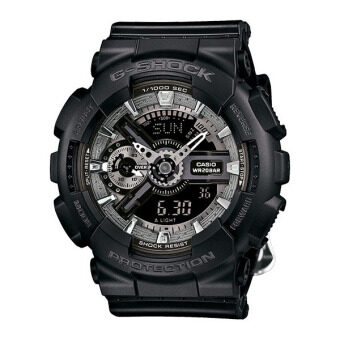 Casio G-Shock Miniนาฬิกาข้อมือผู้หญิง สายเรซิ่น รุ่นGMAS110F-1A -สีดำ