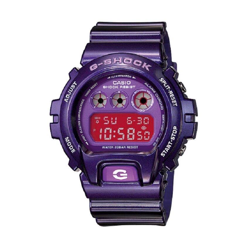 ด่วน Casio G-Shock นาฬิกาข้อมือผู้ชาย รุ่น DW-6900CC-6DS (Purple) กำลังลดราคา
