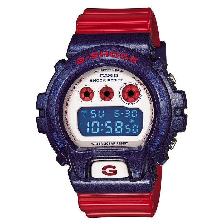 รีบเลย Casio G-Shock นาฬิกาข้อมือ รุ่น DW-6900AC-2DR ลดราคา