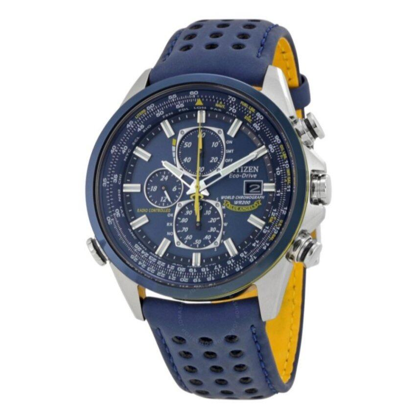 CITIZEN Eco Drive Blue Angels World Chronograph Men's Watch - intl