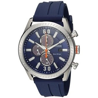 Citizen Mens Drive Quartz Stainless Steel and Polyurethane Casual Watch Color:Blue (Model: CA0661-01L) - intl