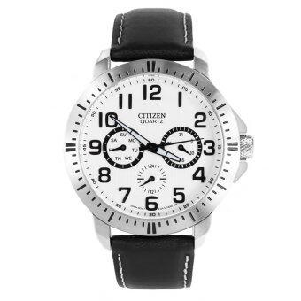 Citizen Quartz Chronograph Mens Watch รุ่น AG8310-08A - White