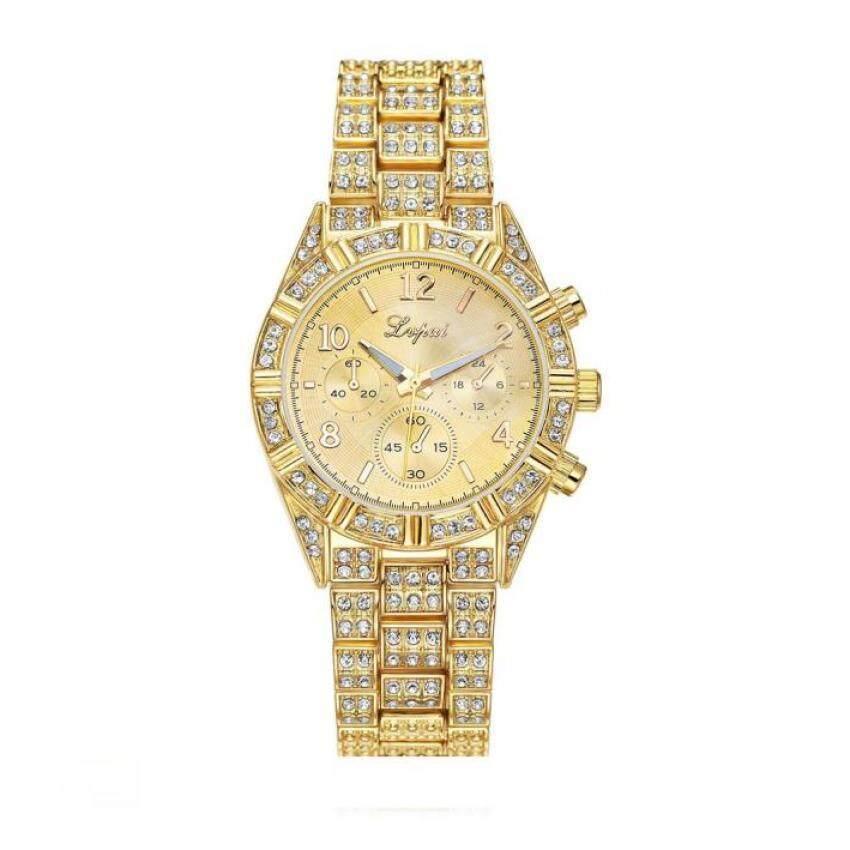 Coconie Vente chaude De Mode De Luxe Femmes Montres Femmes Bracelet Montre Watch Gold ...