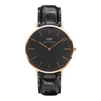 Daniel Wellington Mens Rose gold DW00100129 Classic Oxford Analog Quartz Watch - intl