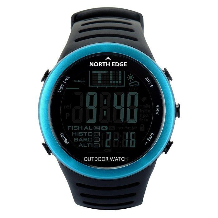 Digital watches Men Sport Watch with Weather forecast Altimeter Barometer Thermometer Al ...