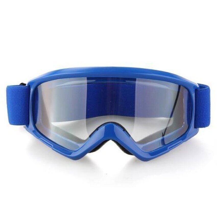 Drean Sport Snow Ski Motocross Motorbike Quad Bike Bicycle Helmet Goggles Glasses (Blue)