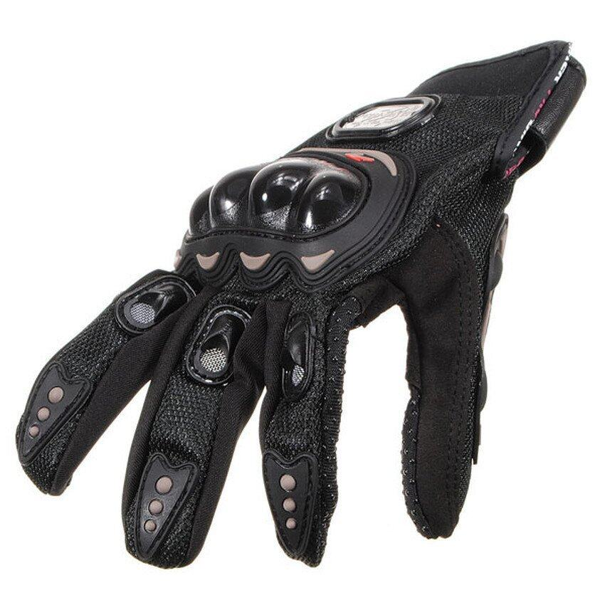 FSH Motorcycle Bike Motorbike Racing Riding Protective WINTER Gloves Black XXL NEW