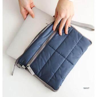 Gadget pouch Multi-Propose storage pouch Ipad bag กระเป๋าใส่ไอแพด กระเป๋าอเนกประสงค์ (BLUE/สีฟ้า)