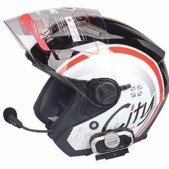 Gadget บูลทูธหมวกกันน๊อค Vimoto V8 Helmet Bluetooth Intercom
