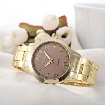 Geneva Women Faux Leather Analog Quartz Wrist Watch - intl
